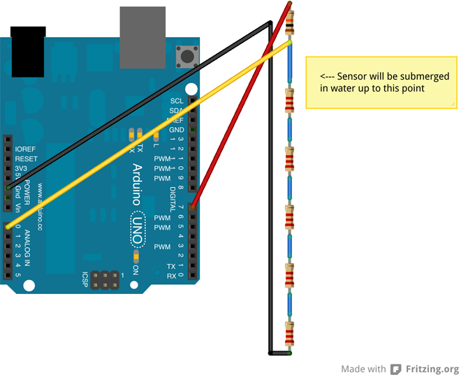 Uart connection to arduino